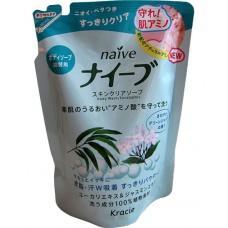 Мыло жидкое для тела Naive  экстракт эвкалипта и жасмина (сменная упаковка), 420 мл (16758)