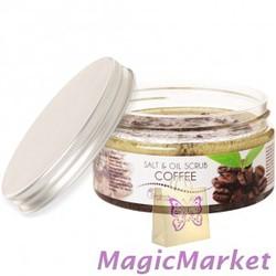 Солевой масляный скраб для тела кофе Ceano Cosmetics 300 г