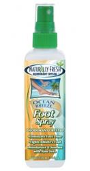 Спрей-дезодорант для ног Naturally Fresh Ocean Breeze Foot Spray Спрей-дезодорант для ног Naturally Fresh Ocean Breeze Foot Spray 120 мл