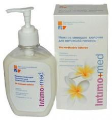 Молочко для интимной гигиены Intimo+med, 250 мл